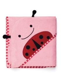 """Полотенце с капюшоном """"Божья коровка"""" Skip Hop Zoo Hooded Towel Ladybug"""