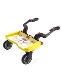 "Lascal ""Buggy Board Maxi"" Подножка-приставка к коляске для второго ребенка , Зоопарк"