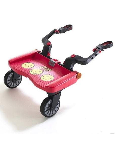 """Lascal """"Buggy Board Maxi"""" Подножка-приставка к коляске для второго ребенка [ art. 27 ], Рожицы"""
