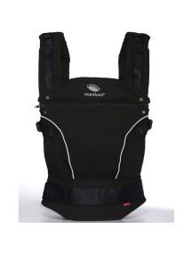 """Manduca """"PureCotton"""" Эргономичный слинг-рюкзак для переноски ребенка, Night black (Черный)"""