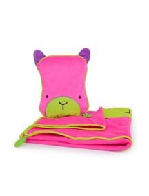 "Trunki ""SnooziHedz"" Детская подушка-плед, Розовый"