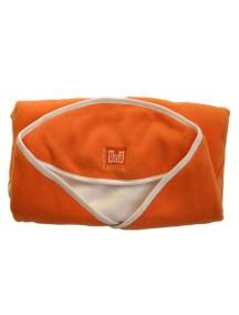 """Red Castle """"BabyNomade Fleece"""" Конверт-одеяло многоцелевое флисовое размер S1 (от 0 до 4 мес.), 081491 / оранжевый - слоновая ко"""