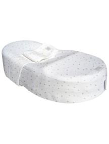 """Red Castle """"Cocoonababy"""" Эргономичная кроватка-кокон для новорожденных , S3, 103 / Серые звезды"""