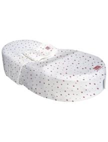 """Red Castle """"Cocoonababy"""" Эргономичная кроватка-кокон для новорожденных , S3, 104 / Красные звезды"""