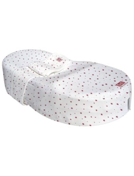 """Red Castle """"Cocoonababy"""" Эргономичная кроватка-кокон для новорожденных [ art. S3 ], S3, 104 / Красные звезды"""