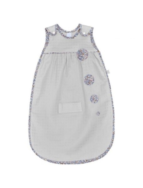 "Red Castle ""Sleep Bag small"" Спальный мешок детский - хлопок-муслин размер 65-75 см., 0469108 (65 см, Pearl Grey - Lib"
