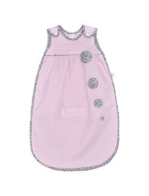 "Red Castle ""Sleep Bag small"" Спальный мешок детский - хлопок-муслин размер 65-75 см., 0470107 (75 см, Dusk Pink - Libe"