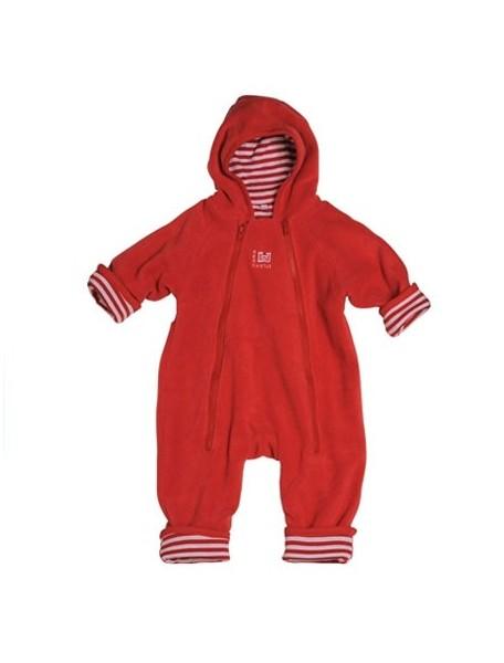 """Red Castle """"Zip Up"""" Комбинезон флисовый с 100% хлопковой подкладкой размер S2 (с 4 до 9 мес.), 080630 / красный - красный"""