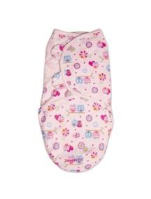 """Summer Infant """"SwaddleMe"""" Конверт для пеленания с рождения и до 4-х месяцев, 76450 / Розовый с сердечками, S/"""
