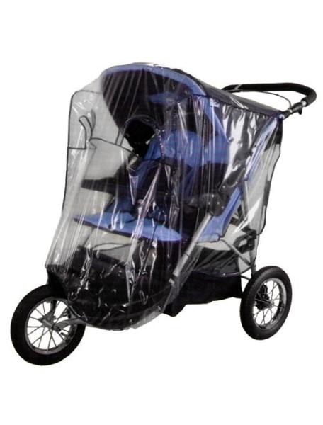 Sunnybaby Дождевик для двойной коляски типа Jogger [ art. SD88 ], 13188 / Синий