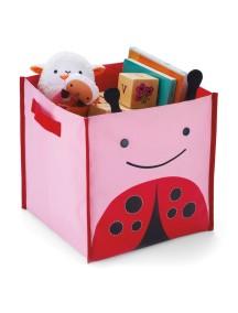 Корзина для игрушек Skip Hop Zoo Bin - Ladybug (Божия коровка)