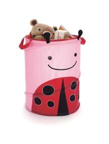 Большая корзина для игрушек Skip Hop Zoo Hamper - Ladybug (Божия коровка)
