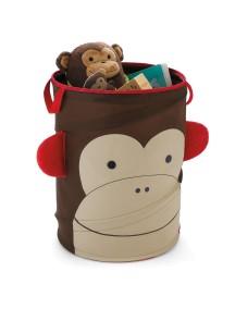 Большая корзина для игрушек Skip Hop Zoo Hamper - Monkey (Обезьянка)