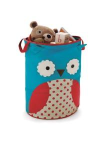 Большая корзина для игрушек Skip Hop Zoo Hamper - Owl (Совенок)
