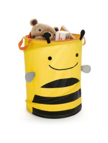 Большая корзина для игрушек Skip Hop Zoo Hamper - Bee (Пчелка)