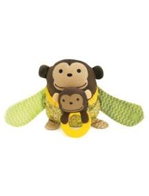 Развивающая игрушка на коляску Skip Hop Hug and Hide Stroller Toy - Monkey (Обезьянка)