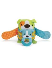 Развивающая игрушка на коляску Skip Hop Hug and Hide Stroller Toy - Dog (Щенок)