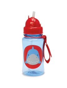 Детский поильник Skip Hop Zoo Straw Bottle - Shark (Акуленок)