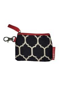 Чехол для именного бейджика на чемодан или рюкзачок Skip Hop ID Tag - Onyx Tile