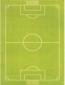 Детский гипоаллергенный игровой 3D ковер IVI, Футбольное поле - 100х150 см.