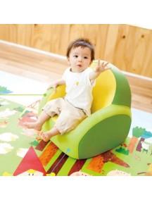 """Самое первое кресло-софа для вашего малыша Dwinguler """"Kids Sofa""""  Лайм"""
