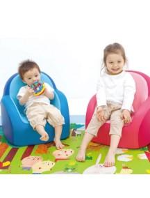 """Самое первое кресло-софа для вашего малыша Dwinguler """"Kids Sofa""""  Голубой"""