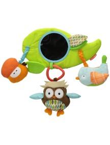 Навесная игрушка на бампер коляски Skip Hop Stroller Bar Toy - Treetop Friends