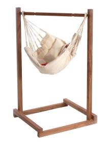 Гамак для младенцев YAYITA LA SIESTA из био-хлопка со стойкой в комплекте