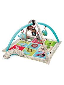 Развивающий игровой коврик 4 в 1 Skip Hop Activity Gym - Alphabet Zoo (Английский зоопарк)