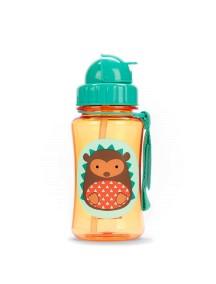 """Поильник с трубочкой детский """"Ёжик""""  Skip Hop Zoo Straw Bottle Hedgehog"""