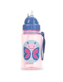 "Поильник с трубочкой детский ""Бабочка"" Skip Hop Zoo Straw Bottle Butterfly"