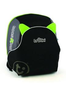 Trunki BosstApak Универсальный детский рюкзак-бустер Транки Бустапак, Черно-зеленый