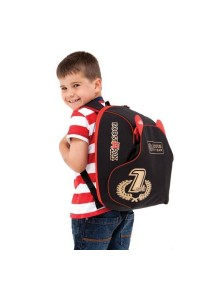 BoostaPak рюкзак-бустер Черный с красным LOTUS F1
