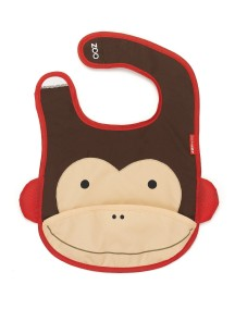 Слюнявчик Skip Hop Zoo Bib - Monkey (Обезьянка)