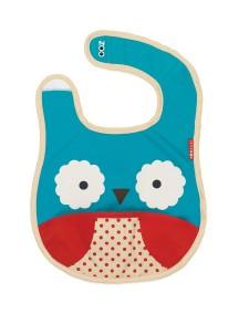 Слюнявчик Skip Hop Zoo Bib - Owl (Совенок)