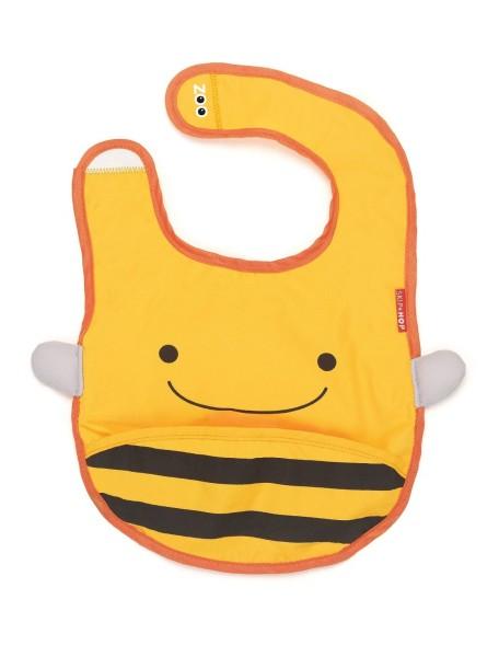 Слюнявчик Skip Hop Zoo Bib - Bee (Пчёлка)