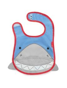Слюнявчик Skip Hop Zoo Bib - Shark (Акуленок)