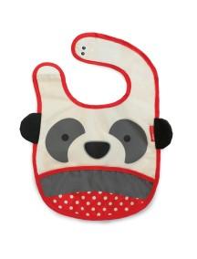 Слюнявчик Skip Hop Zoo Bib - Panda (Мишка-панда)