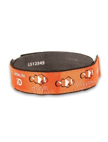 Светоотражающий браслет LiitleLife - Рыбка-клоун (Оранжевый)