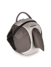 Рюкзак с поводком LittleLife - Акула (1-4) серый