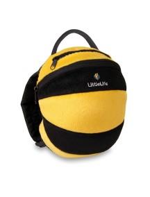 Рюкзак с поводком LittleLife - Пчелка (1-4) желтый с черным