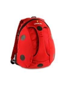 Рюкзак с ручкой LittleLife - Божья коровка (1-4) красный с черным