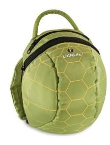 Рюкзак с поводком LittleLife - Черепашка (1-4) зеленый