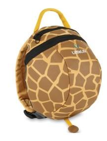 Рюкзак с поводком LittleLife - Жираф (1-4) бежевый