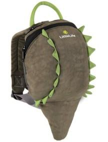 Рюкзак с поводком LittleLife - Крокодил (1-4)  зеленый