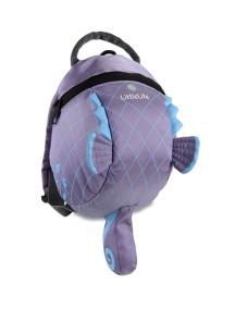Рюкзак с поводком LittleLife - Морской конек (1-4) сиреневый с голубым