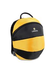 Рюкзак LittleLife - Большая пчелка (3-5) желтый с черным