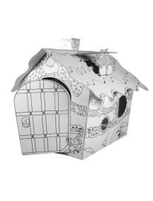 """Домик из картона """"Фруктовый домик"""" CartonHouse, размер 116х73х88см"""