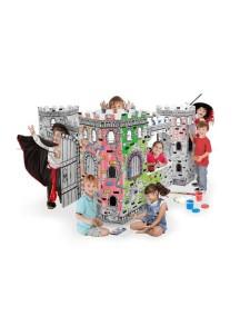 "Домик из картона ""Крепость"" CartonHouse, размер 177х177х110см"