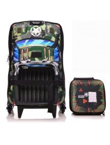 Чемодан + сумка Maxtoy Pickup Camuflado